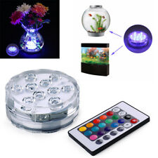 Underwater Wireless Remote Control Colorful Led Light Multi Color Submersible A