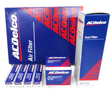 ACDelco Mazda 2 1.5L Service Filter Kit Oil Air Fuel Filter Spark Plugs