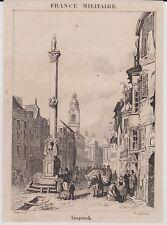 1834  --  AUTRICHE  INSPRUCK sic   INNSBRUCK   3I058