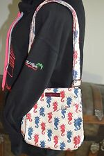 Bungalow 360 Übër Cute Sea Horse Small Messenger Bag!  <3 Washable & Fun
