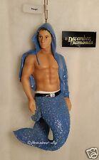 December Diamonds DIEGO Merman Ornament 2013, Collectible Gift Box, Retired, NIB