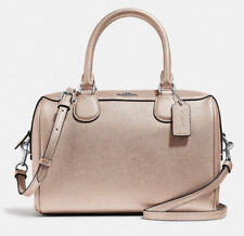 NWT Coach F39706 mini Bennett Platinum Leather Satchel +25% off your next order*