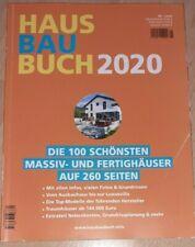 HausBauBuch 2020: Die 100 schönsten Massiv- und Fertighäuser