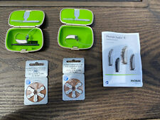 Phonak Audeo B - Direct  Hearing Aids (Pair) with case and replacement batteries