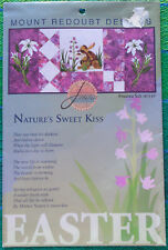 """Easter Quilt Pattern: """"Nature's Sweet Kiss"""" by Mount Redoubt Designs"""