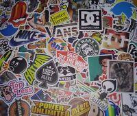 lot of 50 vintage stickers skate skateboard surf guitar car luggage vans DC