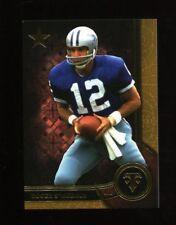 2015 Topps Triple Threads Gold Roger Staubach #83 Cowboys /99