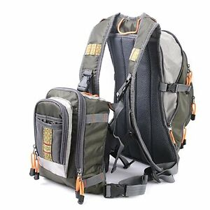 Maxcatch Fly Fishing Vest Pack Fishing Vest/Fishing Sling Pack/Fishing Backpack