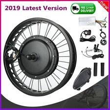 Electric Bike Front Rear Wheel Bicycle Conversion Kit Hub Motor Cycle 48V 1500W