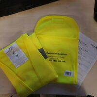 Warnweste Sicherheitsweste Signalweste Weste Gelb mit Klett DIN EN ISO 20471