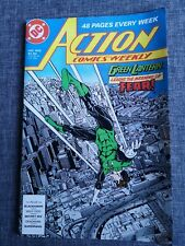 ACTION COMICS WEEKLY 602 SUPERMAN DC COMICS 1988 GREEN LANTERN BLACKHAWK