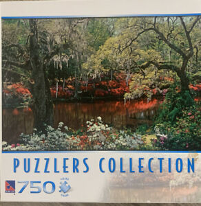 Sure-Lox Puzzler Collection ~ MIDDLETON PLACE GARDEN ~750 Piece Puzzle