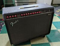 Fender Pro 185 guitar amp, 2x12 combo Large 450 Watts 2 Channel EQ Effects vtg