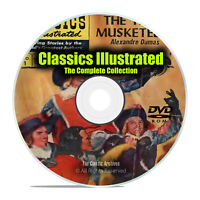 Classics Illustrated Comics, Junior, Complete 261 Issue Collection, PDF DVD I29