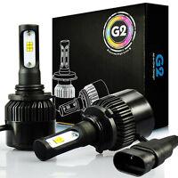 JDM ASTAR G2 8000LM HB4 9006 LED Headlight Low Beam Bulbs White /DRL Fog Light