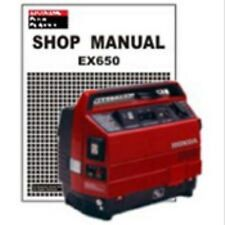 HONDA SUITCASE GENERATOR SERVICE AND USER MANUALS ON CD + DOWNLOAD
