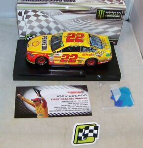 1:24 ACTION 2018 #22 SHELL PENNZOIL FORD MARTINSVILLE RACE WIN JOEY LOGANO 1/409