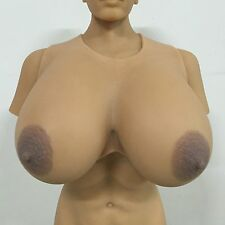 IVITA 16XL Huge Silicone Breast Form Crossdress 9.5KG Large Boob Enhancer