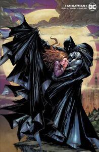 🚨🔥🦇 I AM BATMAN #1 KIRKHAM Minimal Trade Dress Variant Batman #423 Homage