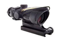 Trijicon TA31-C-100412 ACOG 4x32 Scope, Dual Illuminated Amber Crosshair 300 BLK