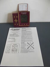 Scrabble Express Electronic Hand Held Game Hasbro
