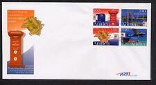 Ned. Antillen FDC E383 - E 383, POST, blanco met open klep