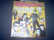 Ricky Nelson, Big Country, Kim Basinger -  Rolling Stone Magazine 1986
