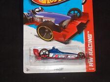 HOT WHEELS 2013 HW RACING #116/250 F-RACER HOTWHEELS BLUE/RED RACE TRACK READY