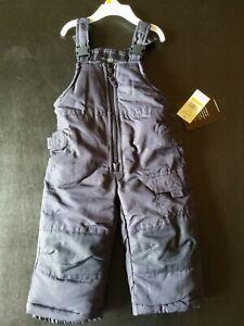 London Fog Navy Snow pants 12 months - New