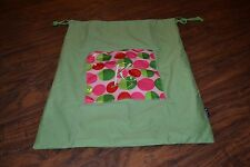 "A19- B. Jaxx Cinch Monogrammed ""K"" Laundry Bag"