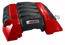 V8 SS Emblem Polished Engine Cover Plate Red Black White Fits 2010-2013 Camaro