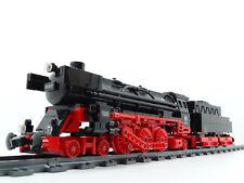 MOC Lok Eisenbahn Dampflok Eigenbau Baureihe 01 mit Power Functions aus Lego NEU