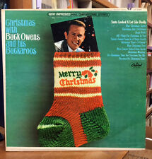 BUCK OWENS AND HIS BUCKAROOS Christmas With LP STEREO COUNTRY 1965 VINYL ST-2396