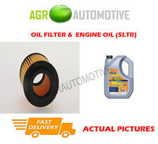 DIESEL OIL FILTER + LL 5W30 ENGINE OIL FOR VAUXHALL ASTRA 1.9 150 BHP 2006-10