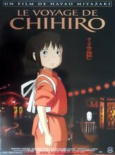 LE VOYAGE DE CHIHIRO Affiche Cinéma Pliée 53x40 Movie Poster MIYAZAKI