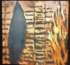 """Donald Sultan """"Forest Fire """" Modern Art 35mm Glass Slide"""