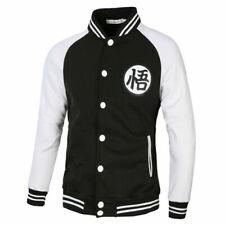 Men Anime Thicken Sweater Hoodies Fleece Jacket Coat white size L 6