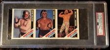 1985 Wrestling All-Stars Sullivan Rich Ventura Hand-Cut PSA 5 EX Card POP 1