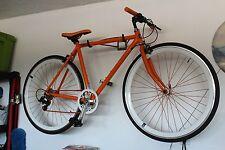 52cm, ORANGE, CREATE Aluminum Frame 8 Speed Road Bike
