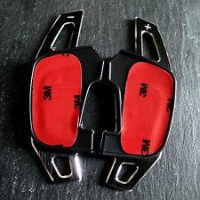 VW GOLF 7 ★ DSG ALU SCHALTWIPPEN VERLÄNGERUNG ➤ R GTI GTD GTE R Design - Schwarz