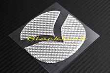 FOR 03~12 Mazda 3 Rear Trunk Emblem Gray Carbon Fiber Filler Decal Insert Mazda2