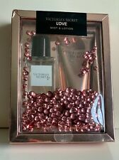 NEW! VICTORIA'S SECRET VS LOVE FRAGRANCE BODY MIST & LOTION GIFT SET