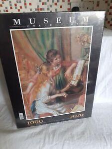 1000 Pc Jigsaw Puzzle Clementoni Museum Collection Renoir Piano Girls Art