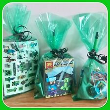 Minecraft Birthday, Child Party Bags