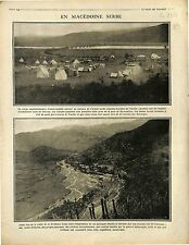 Corps Expéditionnaire Franco-Anglais Serbia Army Vardar Valley Doiran  1916 WWI