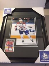 TOMAS PLEKANEC - Montreal Canadiens 8x10 Frame Autographed Signed card Cadre NHL