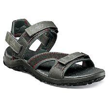 Nunn Bush Men's Riptide Pewter Gray Sandals SIZES! NIB NEW 84335