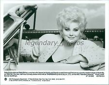 1992 Delta Burke Plays a Country-Western Singer Original News Service Photo