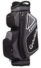 TaylorMade Select Plus Cart Bag- 14 Divisions-Color Black/White #6552901