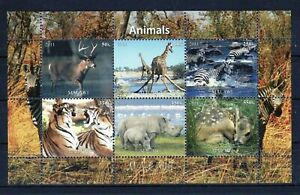 MALAWI 2012 ANIMALS WILD NATURE FAUNA STAMPS BLOCK PERF MNH